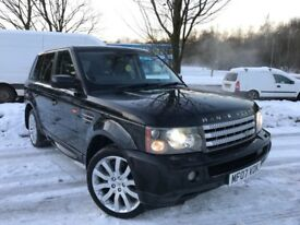 Land Rover Range Rover Sport 3.6 TDV8 HSE (black) 2007