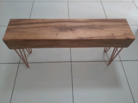 Bespoke Oak bench