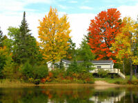 Muskoka River Cottage Rental