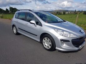 Peugeot 308 1.6 HDI 90 S (silver) 2010
