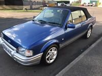 1990 Ford escort xr3i convertible