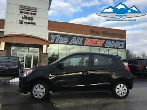 2015 Mitsubishi Mirage DE  ACCIDENT FREE, FUEL SAVER, CERTIFIED/