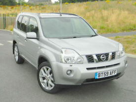 2010 (59) Nissan X-Trail 2.0dCi 148 Auto Tekna ...Top Spec With Every Extra!