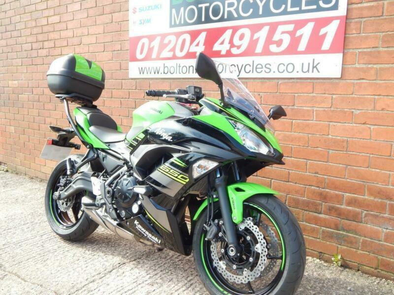 EX DEMO 2019 KAWASAKI NINJA 650 SPORTS TOURER MOTORCYCLE | in Bolton,  Manchester | Gumtree
