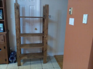 STAINED PINE SHELF