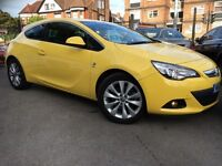 Vauxhall Astra GTC 2.0 CDTI 16V S/S SRI GTC 165PS (yellow) 2013