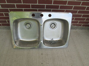 double SINK (3 holes)