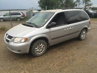 2003 Dodge caravan comes with inspection