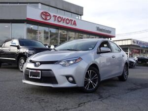 Toyota Corolla LE Upgrade Package 2016