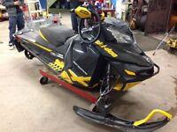 PARTING OUT A 2013 SKI DOO RENEGADE 800 X SNOWMOBILE
