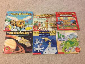 THE MAGIC SCHOOL BUS - 6 BOOKS