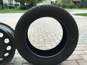 Nordic Icetrac Winter Tires with Rims 205/55R16 - Excellent