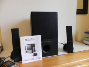 speakers and sub