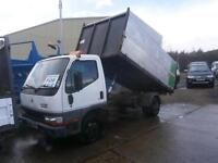 2003 MITSUBISHI CANTER 35 3.0TD TIPPER TRUCK HIGH SIDE CHIPPER BOX BODY EXPORT