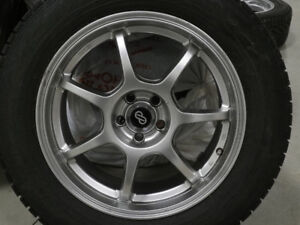 Enkei Alloy Rims and Nokian Winter Tires for Subaru and Others