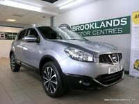 Nissan Qashqai 1.6 N-TEC [4X SERVICES, SAT NAV, REVERSE CAMERA and PANORAMIC ROO