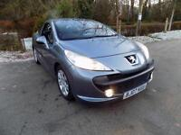 2007 PEUGEOT 207 SPORT COUPE CABRIOLET HDI CONVERTIBLE DIESEL