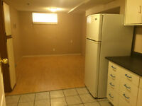 one bedroom basement suite with own washer and dryer