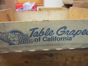 Vintage California Table Grape Boxes. ** ONLY $10. Each ** Oakville / Halton Region Toronto (GTA) image 9