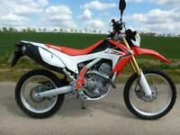 2013 Honda CRF250L Trail / Enduro Only 1380 miles Part ex / Cards welcome