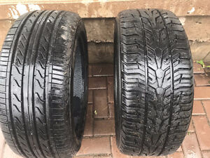 17 inch backup tires - in very good shape!!