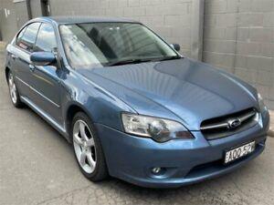 2004 Subaru Liberty B4 MY04 Luxury AWD Blue 4 Speed Sports Automatic Sedan Auburn Auburn Area Preview
