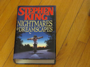 STEPHEN   KING  **  NIGHTMARES AND DREAMSCAPES/anglais