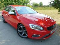 2014 Volvo S60 D3 [136] R DESIGN 4dr Parking Sensors! Heated Seats! 4 door S...