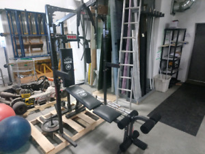 Lightly used gym equipment for sale!