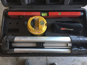 Coleman powermate laser level