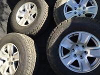 "Brand New OEM Chevrolet Silverado 17"" Aluminum Wheels and Tires"