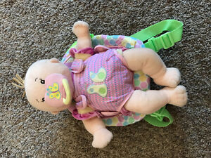 Baby Stella doll with backpack