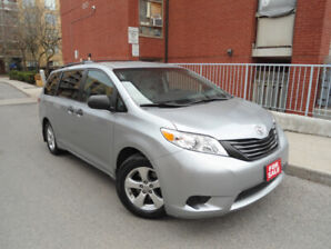 2015 TOYOTA SIENNA , ONLY 093 KM , BACK-UP CAMERA , BLUETOOTH!!!