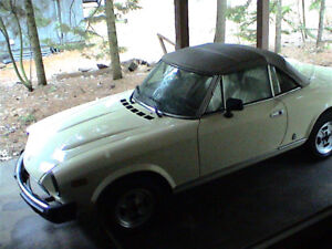 For Sale 1981 Fiat 124 Spider