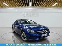 2018 Mercedes-Benz C-CLASS 2.0 C350 E SPORT 4d 208 BHP Saloon Automatic