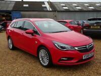 2018 Vauxhall Astra 1.4T Elite Navigation 5 Door Estate Estate Petrol Manual