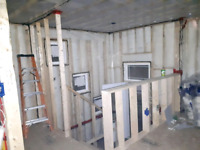 Insulation & Vapor Barrier Services for hire