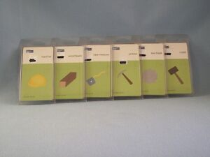 QuicKutz Lot Of 5 Tools Construction Hard Hat Saw Mallet Pickaxe