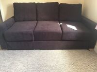 Double 3 seater sofa bed