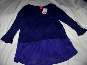 Joe Fresh colour block sweater - brand new with tag
