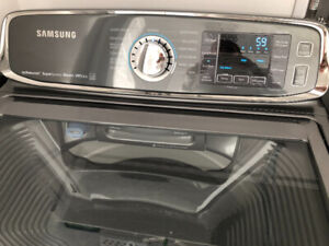 Samsung laveuse sécheuse stainless