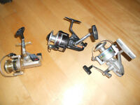 Moulinets pour cannes,15$ Chaques, Metal, Fishing reel rod