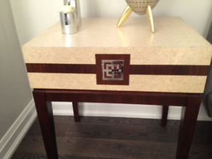 LOVELY ACCENT TABLES