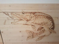Custom Wood burning
