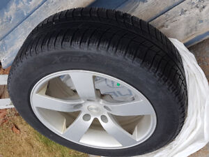 Snow Tires on alloy rims- 4