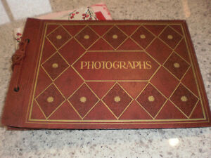 photograph album  Retro  1950s North Shore Greater Vancouver Area image 1