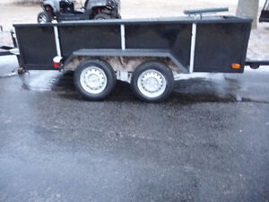 10 x 5 ft Tandem axle Utility trailer All metal construction