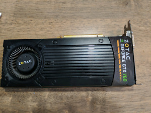 Geforce Zotac GTX 760 4gb