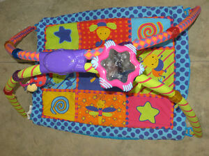 infant light and sound play mat