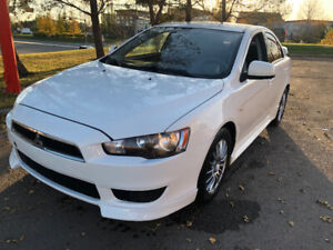 CERTIFIED 2012 Mitsubishi Lancer All wheel drive